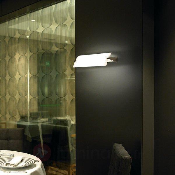 Applique allongée Prisma 40 cm - Appliques chromées/nickel/inox