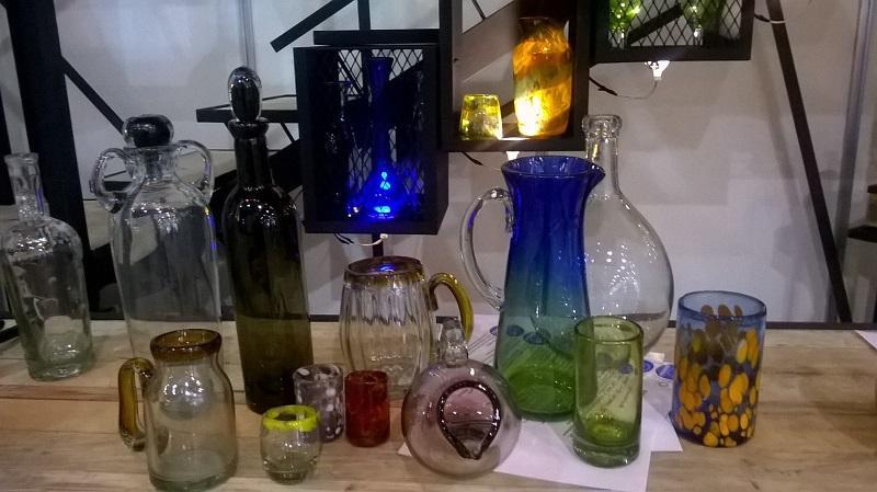 Articulos de vidrio soplado - Vasos, Copas, Floreros, Pantallas, Prototipos.