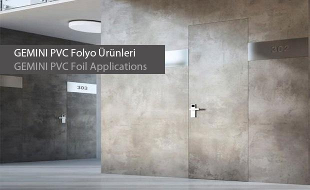 Gemini PVC Foils for doors and Cabinets - decorative foils used widely for door surfaces and cabinets
