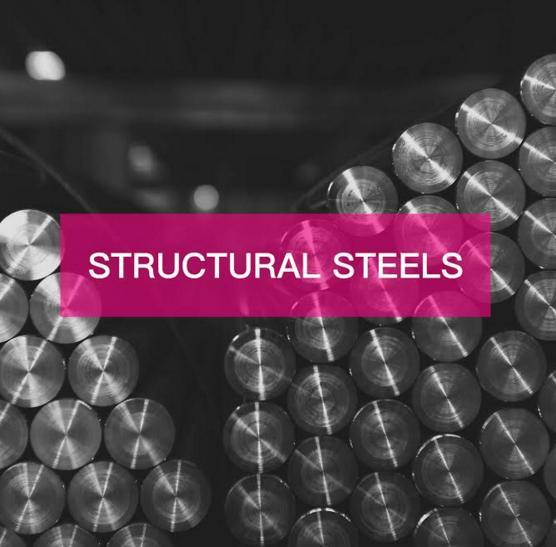 STRUCTURAL STEELS - Please check the description for available steel grades.