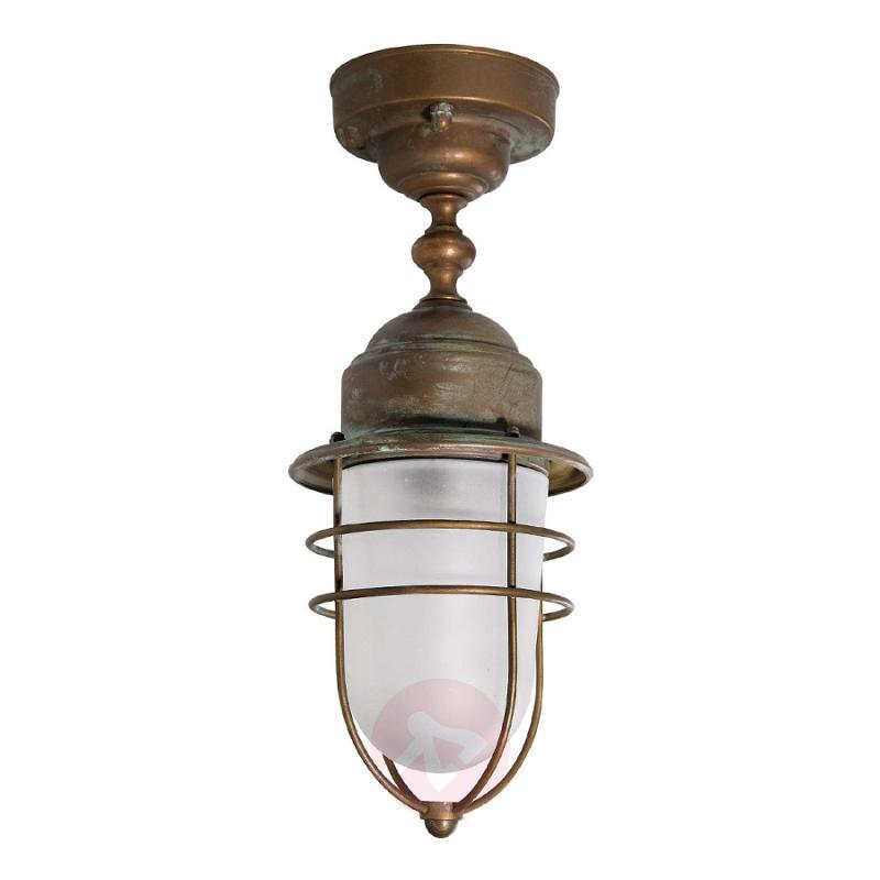 Seawater-resistant outdoor ceiling light Matteo - design-hotel-lighting