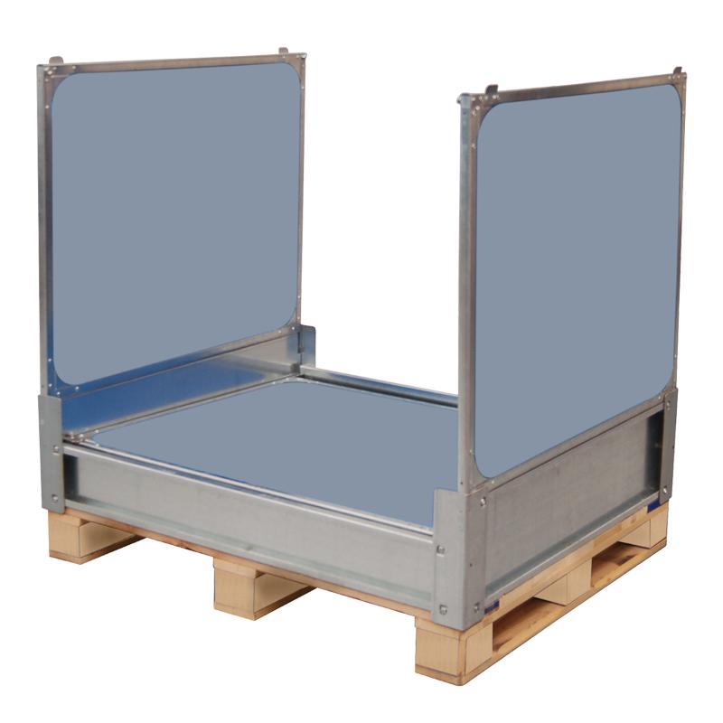 Geschlossen Kisten mit 4 Kunststoff Faltwände - MP Flexbox MPC.b105