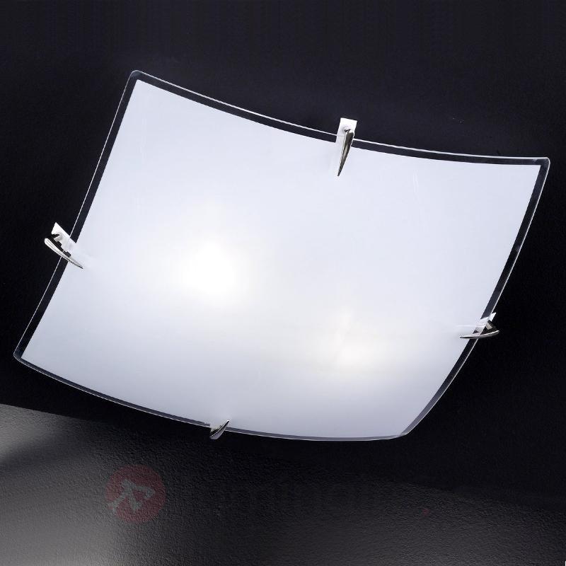 Plafonnier BISA avec bordures claires - Plafonniers en verre