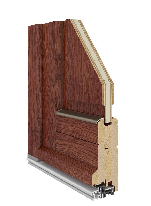 Classic Entrance Door (Wooden 68|78|92)