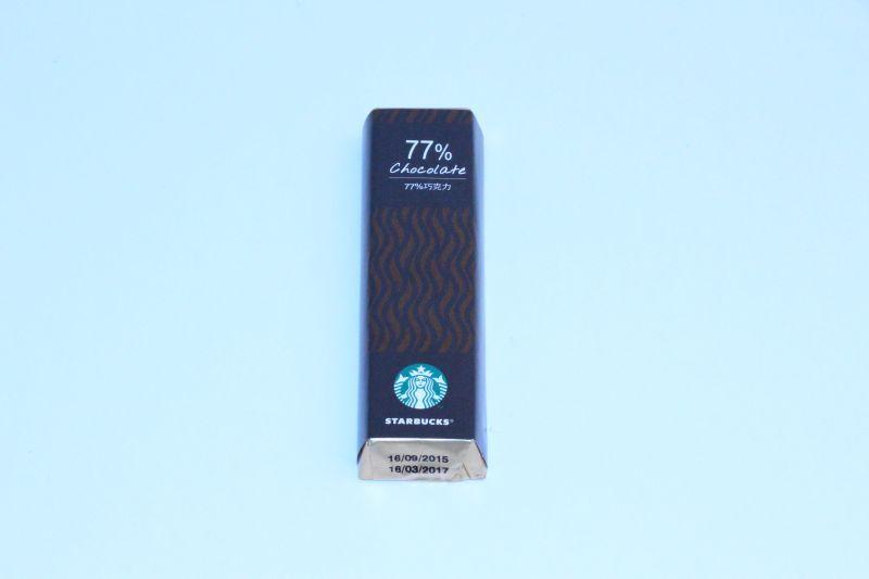 STARBUCKS 77% Chocolate -