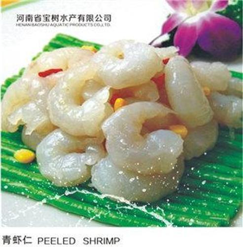 carne de camarón de agua dulce