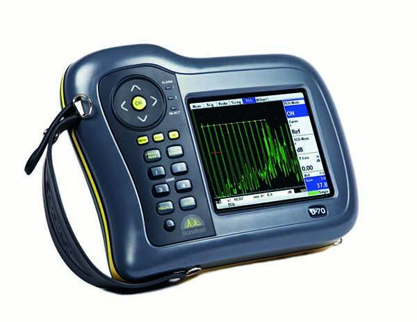 Masterscan D-70 - The Masterscan D-70 is a leading flaw detector in it's class