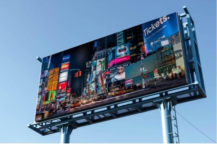 Utcai hirdetések LED kijelző - AVA led totem és poszter kijelzők