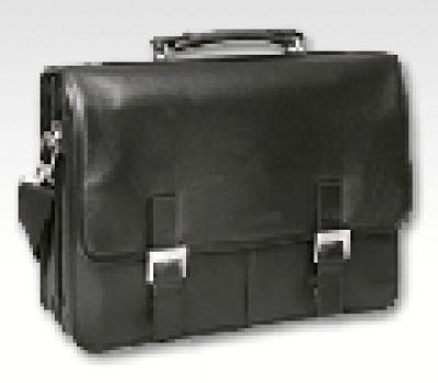 Leather laptop bag            -  Leather sheep Nappa