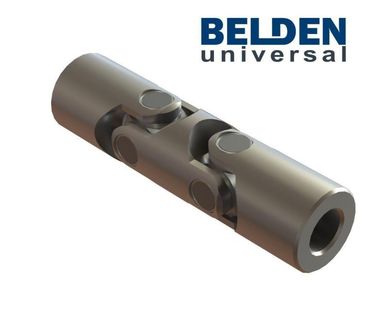 BELDEN DIN 808 Needle Bearing Double Universal Joints - Cardan Joints, U Joint