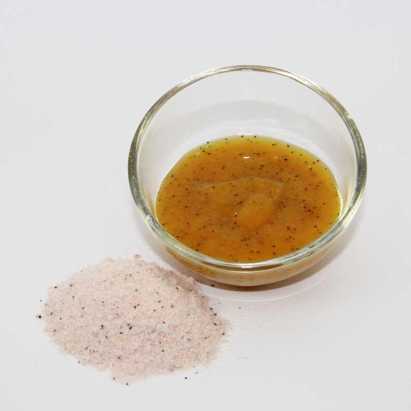 Wash-off Mango jelly scrub