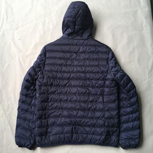 мужской вниз пальто -