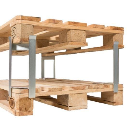 Pallet distance holder for pallet/pallet - 1000 kg, clear height 250 mm