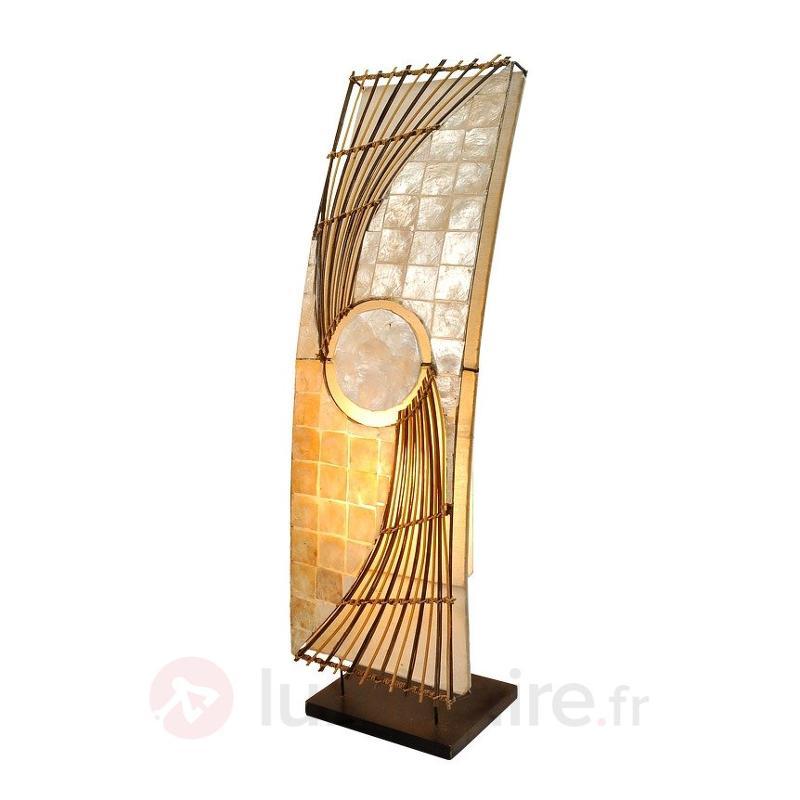 Lampadaire élégant Quento 70 cm - Lampadaires en bois