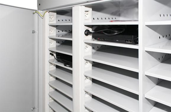 Laptop cabinets and carts - null