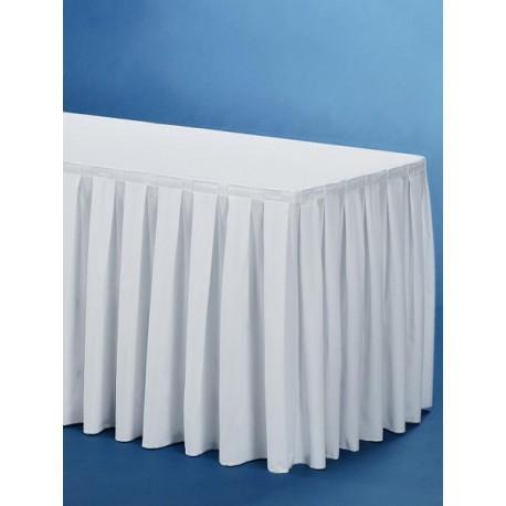 Juponnage de table - Habillage de buffet