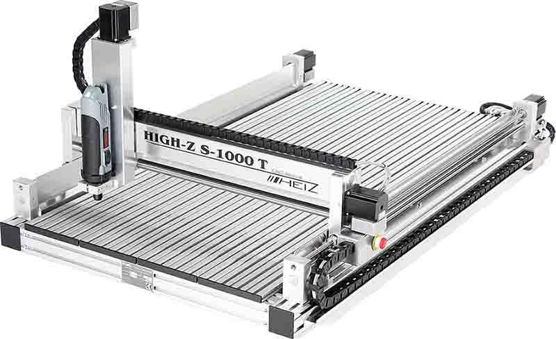 HIGH-Z S-1000/T CNC Fräse - CNC Portalfräse mit Kugelumlaufspindeln / 1000x600 mm