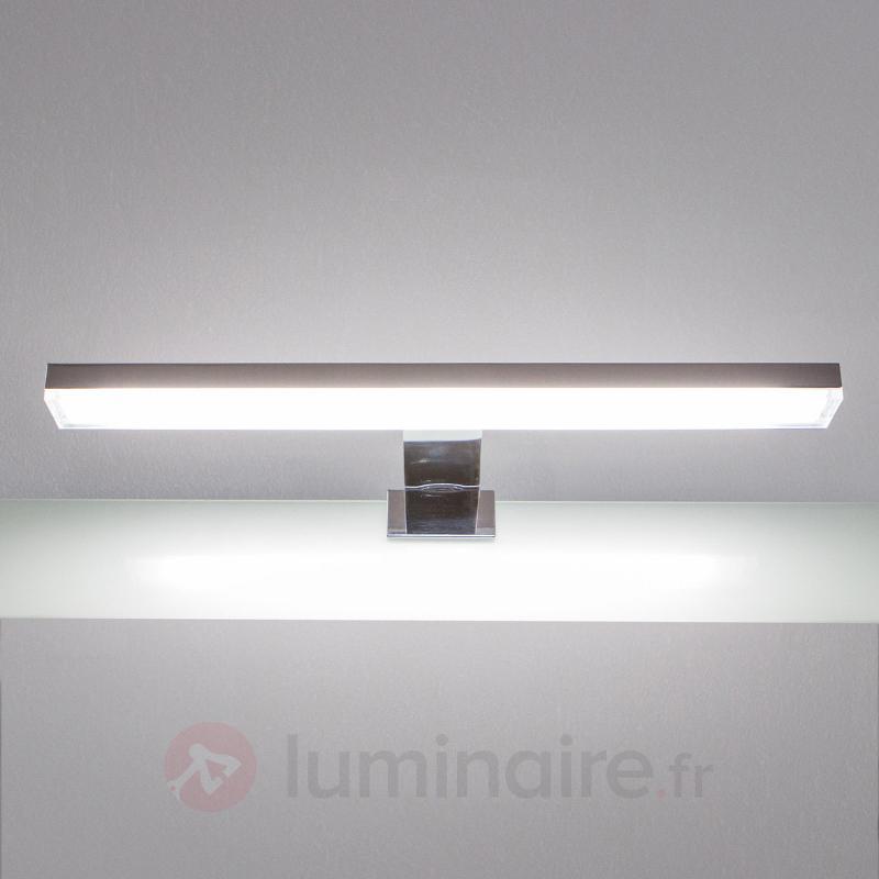 Applique pour miroir de salle de bain free agrandir un for Applique led miroir