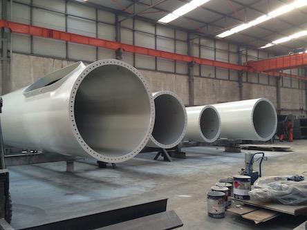 Torri eoliche - costruzione torri eoliche per generatori fino a 100 kw