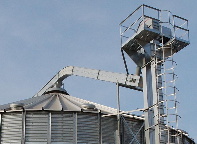 Convoyeurs à chaîne - KCA - Gamme mécanique de transport de céréales