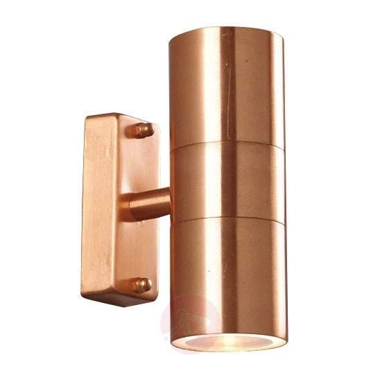 Tin Double outdoor wall lamp made of copper - Outdoor Wall Lights