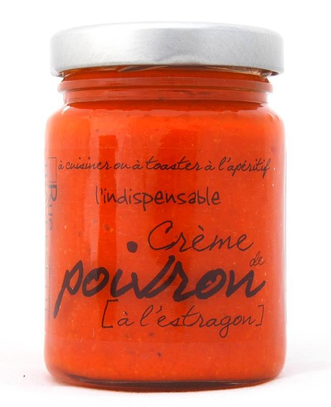 Indispensable crème de poivron à l'estragon 95g - Epicerie salée