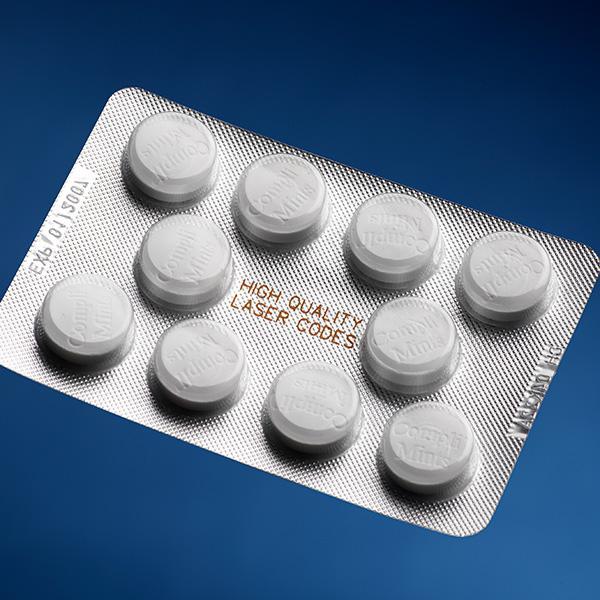 Blister per prodotti farmaceutici - Tutte le soluzioni per la codifica e marcatura, ispezione e controllo di...