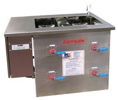 Cuve de nettoyage par ultrasons avec rinçage - UCR300
