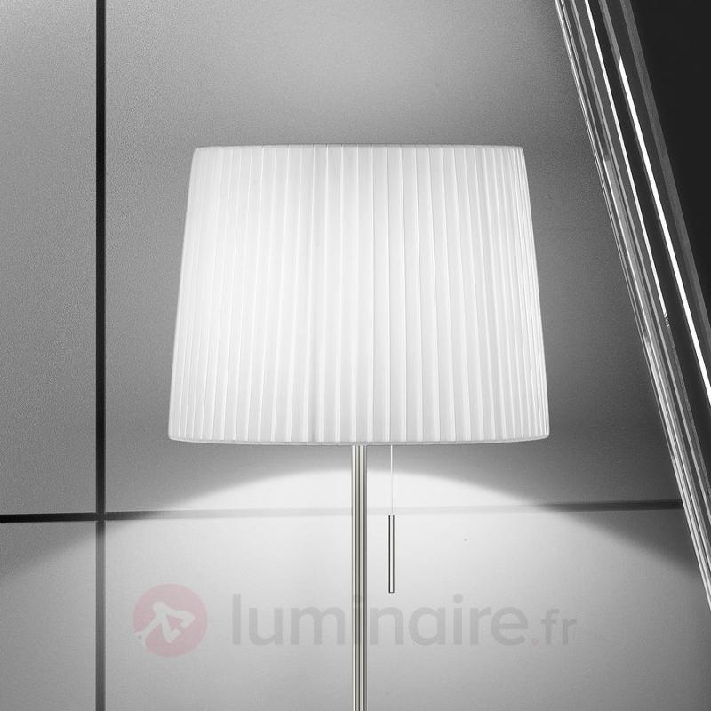 Lampadaire design représentatif Dorotea - Lampadaires en tissu