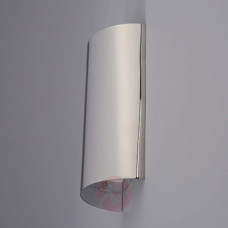 June LED Wall Light Curved   Wall Lights ...