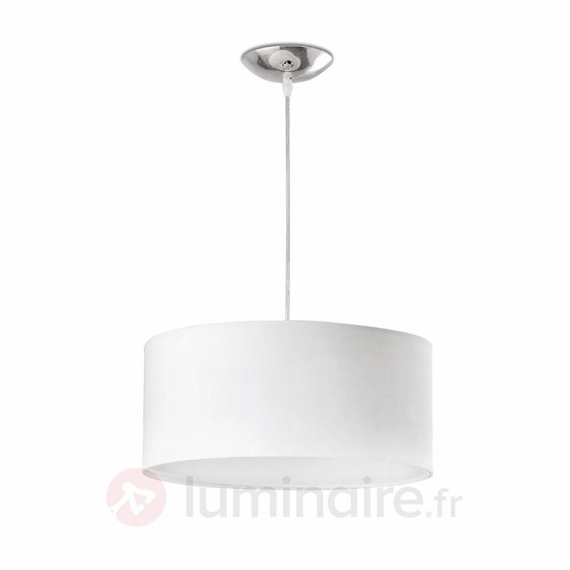 Elégante suspension SEVEN 40 cm - Suspensions en tissu