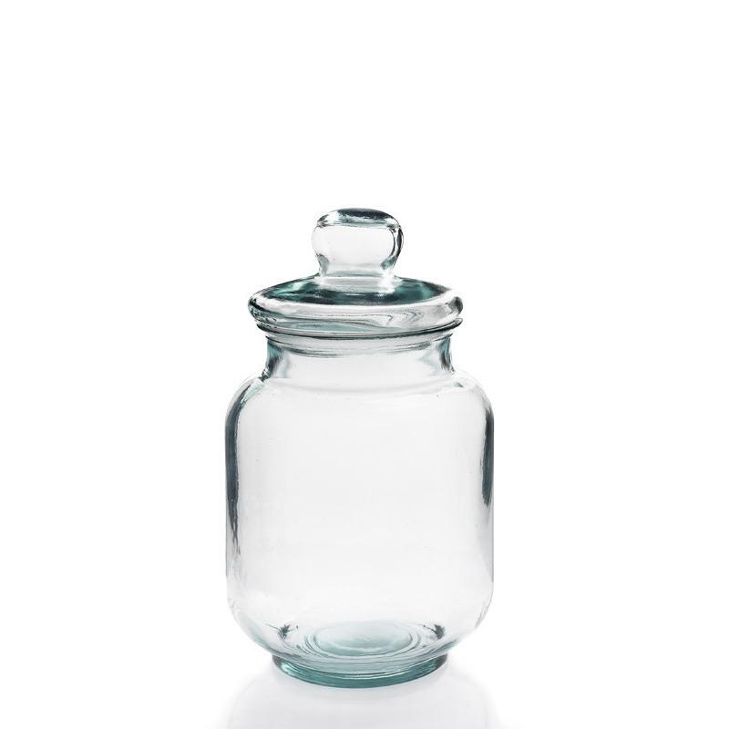 Bonbonnière Tarro Liso, 5 litres, 33.5 cm, en verre 100% recyclé - Bonbonnes et bonbonnières