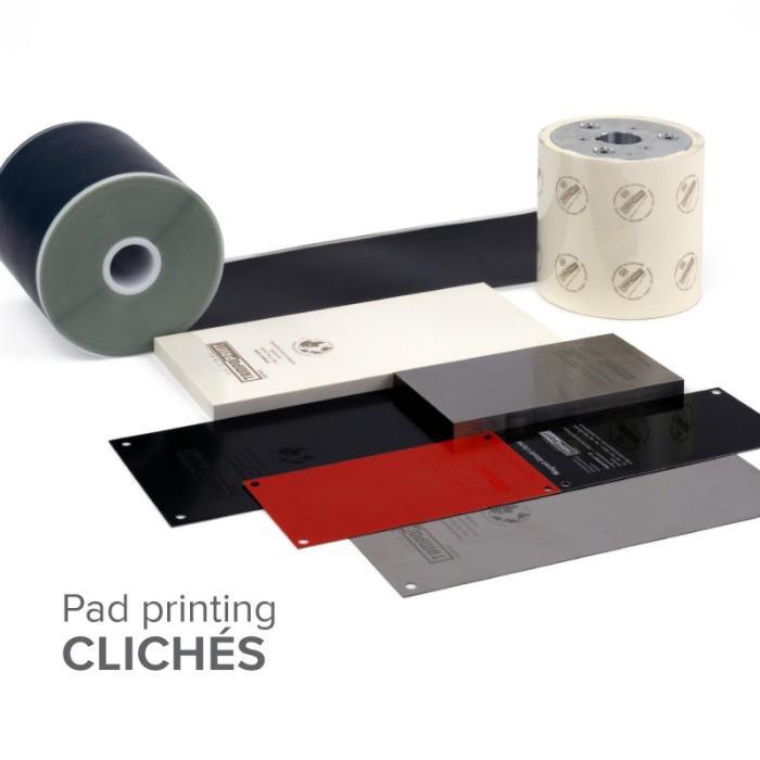 Tampondruckklischees - Laserfähige und auswaschbare Klischees für denTampondruck