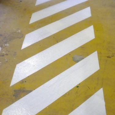 Pochoir marquage parking - Pochoir Polycarbonate 45°