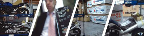Logistics for the Two-Wheeler industry - Services - specialities