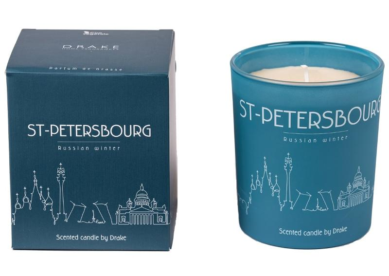 BOUGIE PARFUMÉE - ST PETERSBOURG - Bougies City