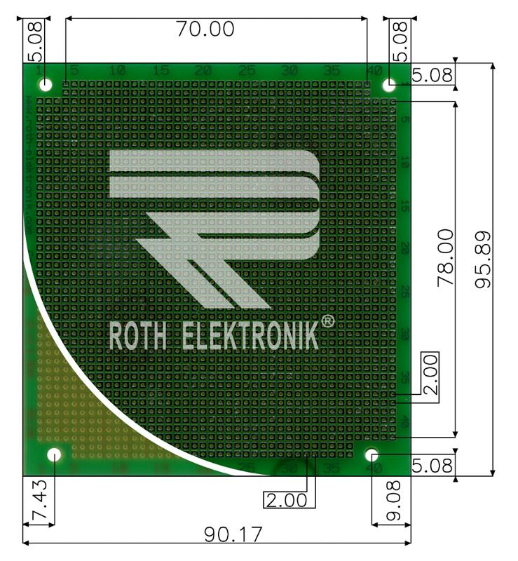 RE130-LF - Prototyping Boards Dual Inline