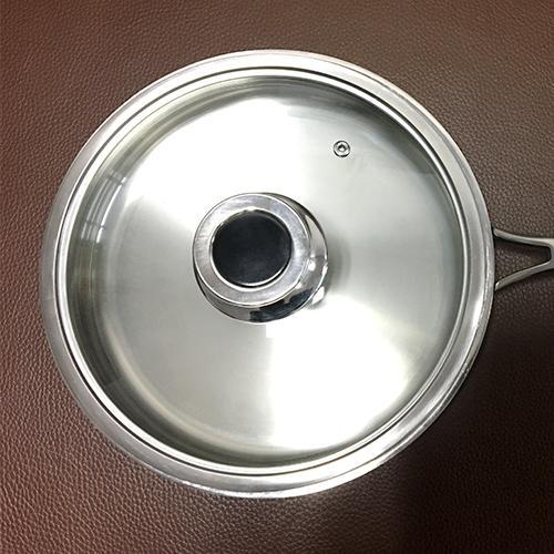 Pot en titane - Pot de lait en titane pur, sans revêtement, taille 6.3inch
