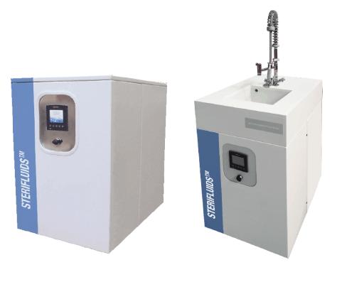 Module de décontamination des effluents et déchets liquides