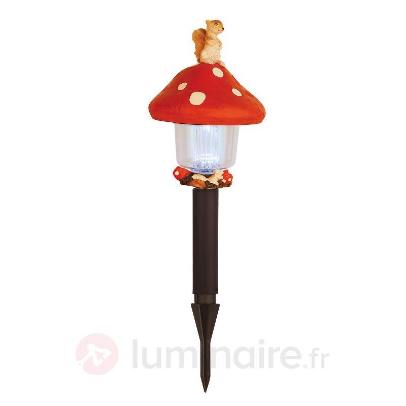 Lampe de jardin éclairée Schroomy amanite - Lampes décoratives d'extérieur