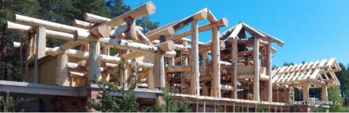 Post and Beam Houses - Post and Beam loghomes