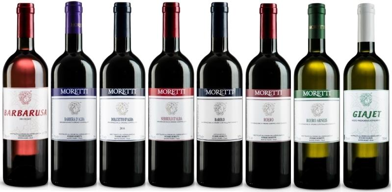 Poderi Moretti vini classici MORETTI - i migliori vini di Alba Langhe e Roero - Area Unesco