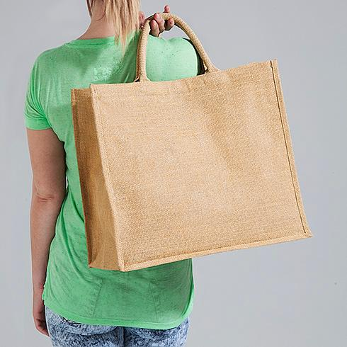 Plain Jute Tote Bag - Custom Plain Jute Tote Bags, Wholesale Jute Handbags, Burlap Jute Bag
