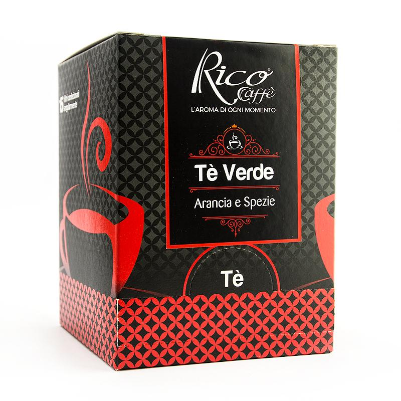 Tè Verde Arancia E Spezie - Le Specialità