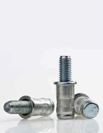 Blind rivet nut studs