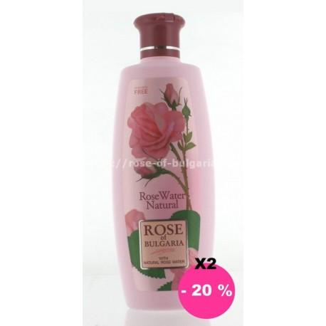 Eau de rose 330 ml recharge lot de 2 - Promotions