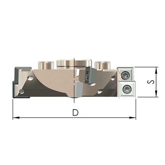 Fräsring FR 40-328-3 HO - null