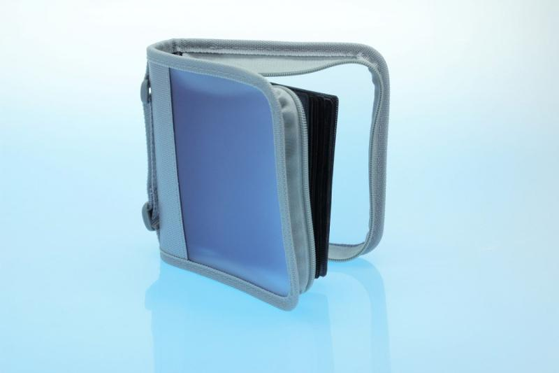 Zipperwallet / CD Tasche für 24 Discs - Zipperwallets