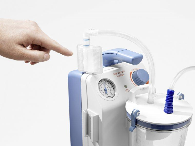 Medical suction filters - Disposable bacteria, virus, odor and overflow protection filters