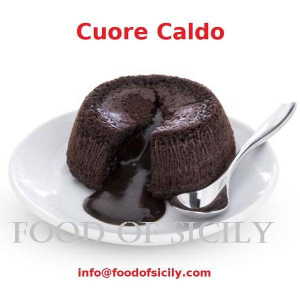"""Coulant de chocolate """"Cuore Caldo"""" - Coulant de chocolate """"Corazón Cálido"""""""